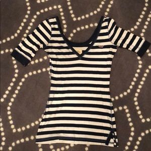 Hollister striped top